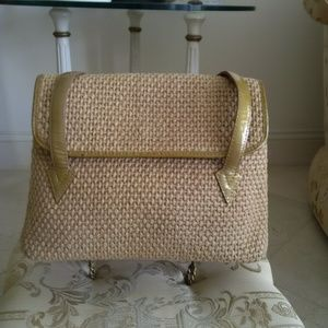 BOTTEGA VENETA Woven Shoulder Handbag